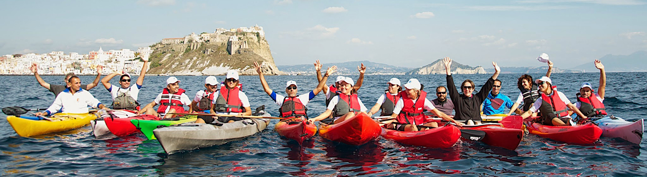 Procida in Kayak è …